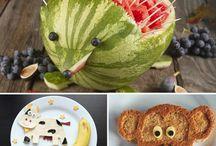 Kid foods / by Martina Sapp