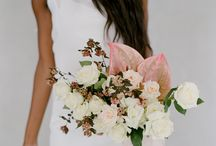 Bridal Bouquets with Antheriums