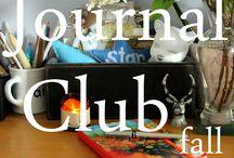 Journal Club - Jamie Ridler Studios / A Celebration of Journals and Journaling by the Journal Club at Jamie Ridler Studios