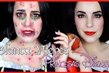 Tutoriales de maquillaje / ¿Te gusta el maquillaje? Aquí subimos todos los tutoriales que hemos ido haciendo a lo largo del tiempo. Para carnaval, halloween, fiestas temáticas...