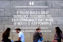 eCommerce inspiration thoughts