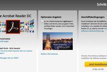 Anweisung Adobe Acrobat Reader DC-Mac OS
