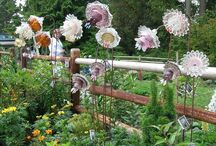 Garden art / by Patricia Coombs