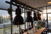 Industrial lights / Old