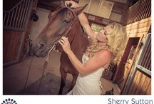 Bride on a Horse  / My favorite photos from Caitlin and Mike's horse farm wedding.