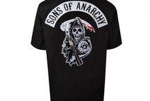 Sons of Anarchy T-shirts / A collection of Sons Of Anarchy (SAMCRO) inspired t-shirts, hoodies, sweatshirts, and tank tops from around the internet.