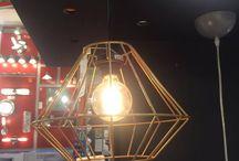 Research Board - IBA, E-Design / Viser lamper på markedet, som vi har fundet interessante og inspiration i. Lampe, IBA Kolding, E-Design, Entreprenør, Sarah Chrone Græns, Anne-Mette Clemmensen