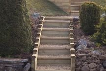 WoodBlocX - schody a terasy / Jednoduché teréní úpravy svažitých pozemků bez těžké mechanizace a betonování.