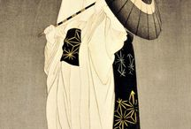 Japanese Woodblock Prints / A collection of Japanese woodblock prints, which I love.