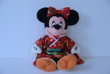 Disney / Disney related items:  Stuffed animals, clothing, and dolls.