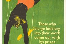 Retro Posters / Dynamic visuals: diversity, culture, retro style and expression, art in advertising and promotional ads. DS