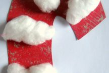 Kids' church craft - Christmas Candy Canes