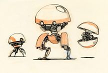 Mech - Sub-Humanoid / Mecha and Drones that are smaller than humanoids - ex: Robot Dog, etc.