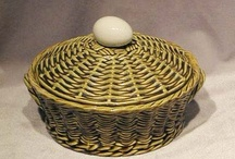 One in the Hand & More Eggs in a Basket, Black-Eyed Susan's Antiques /  Majolica, Parian & Glass Hands & Egg Baskets. / by Black-Eyed Susan's Antiques