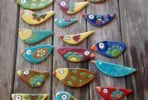 Ceramika -ptaki