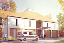 Healthcare Architecture / Medical buildings designed by Archimed