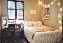 dorm room | university