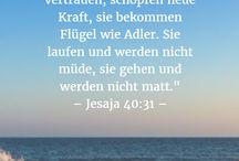 Bibelverse/ Sprüche