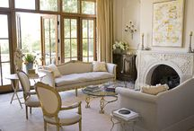 Living Rooms- City Chic / living rooms with a sophisticated, somewhat formal look / by Kate Jeter