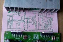 KIT power amplifier TDA2005 heatsink [ sudah solder ]