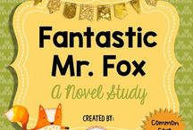 Novel studies fantastic mr fox