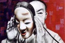 MES PASTELS personnels / ART JAPONAIS - Pastel -