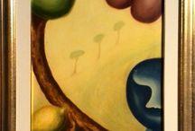 """""""PASSEGGIANDO TRA I DUE MILLENNI - Personale di Fulvio Pinna / """"... Ma ciò che più colpisce nei lavori di Pinna sono le improvvise e inaspettate metamorfosi che si compiono bruscamente negli anni della sua attività proponendo a volte sculture con forme levigate e tondeggianti per virare senza una ragione plausibile, se non quella di raggiungere nuovi traguardi espressivi, con altre spigolose e scontrose, a volte puntute e anche minacciose, oppure dipinti con colori caldi e armonici che precipitano in tagli freddi e aggressivi""""."""