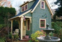 Garden Sheds and Greenhouses / by Melissa Scruggs