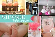 sip and see baby shower ideas