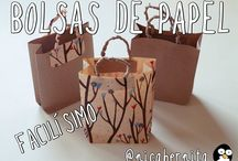 decorar bolsas de papel