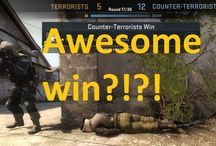 Counter-strike: Global Offensive / CS:GO some awesome things that has happened in game. Or tutorials, how to or even informational videos.