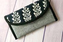 Chezvies Women's Wallet / Collection of handmade women's Wallet by Chezvies available for custom order at www.chezvies.etsy.com or http://shop.chezvies.com