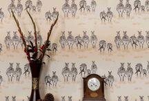 Maria Zebra Wallpaper