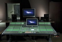 CW Post Production House, Los Angeles / Recording Studio Designed and Build by Westlake Pro.