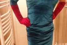 Crossdresser in velvet / My photos...do you like?
