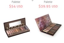 Urban Decay Naked Dupes