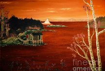 Sunrise and sunset / Sunrise and sunset paintings and photographs to grace any wall in your home or business.