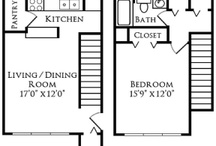 Oak Grove Floor Plan / Looking for a stylish one bedroom?   Square Ft: 777 Price: $1089