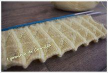 punto pieghe maglia