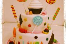 MIS CREACIONES / Pasteles, galletas y cupcakes hechos por mi.