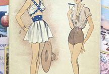 vintage sewing patterns / vintage sewing patterns  Viewing Western culture through vintage sewing patterns over the century.