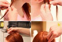 Frisuren-anleitungen