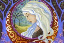Painting art inspiration / by Rebecca Ellington
