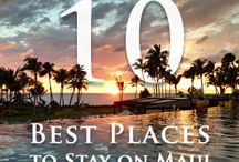 Places to Stay On Maui / Helpful tips to plan your Maui Vacation and choose the best places to stay on Maui.