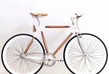 Bicycles / Discover our unique wooden bicycles.  Not just function but beauty, with a combination of wood oak, teak and back wallnut. There is balance between art and function, those bikes are comming with vintage styling. There are a classy and very unique conceptual design bikes for very day use.