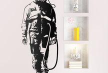 Adesivi Murali Banksy Streer Art