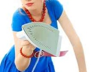 Steam Irons, Ironing Boards and Covers / Everything for Your Ironing Pleasure / by Susan Trudeau