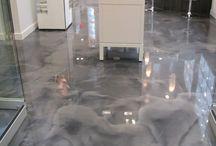 plancher beton