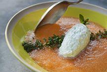 Cuisine originale ou créative / Recettes salées ou sucrées  avec des associations originales, colorées...