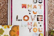 Home Decor with Scrapbook Supplies